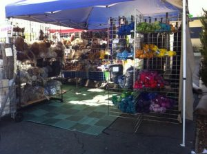 Fibers For Sale at Fiber Festival in California